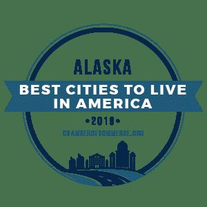 Best Cities To Live Alaska 2019 badge
