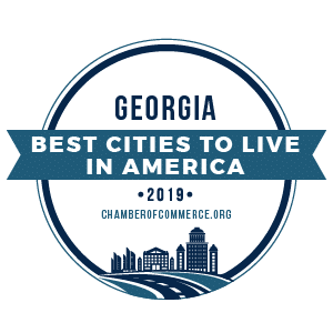 Best Cities To Live Georgia 2019 badge