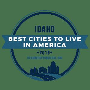 Best Cities To Live Idaho 2019 badge