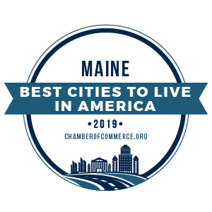 Best Cities To Live Maine 2019 badge
