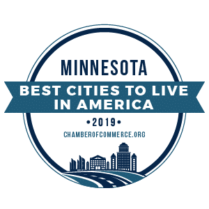Best Cities To Live Minnesota 2019 badge