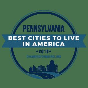 Best Cities To Live Pennsylvania 2019 badge