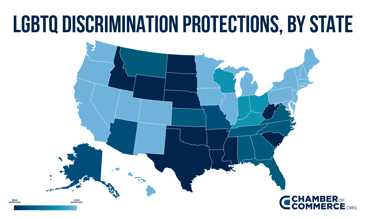 LGBTQ State Protection heat map